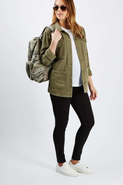 topshop mat shacket