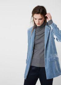 mango-blue-blazer