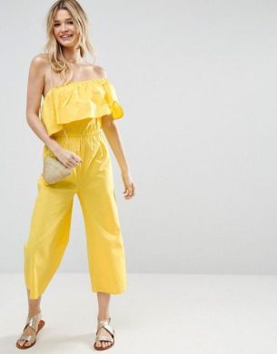 yellow jumpsuit asos
