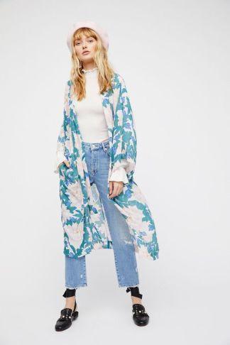 Free people long kimono