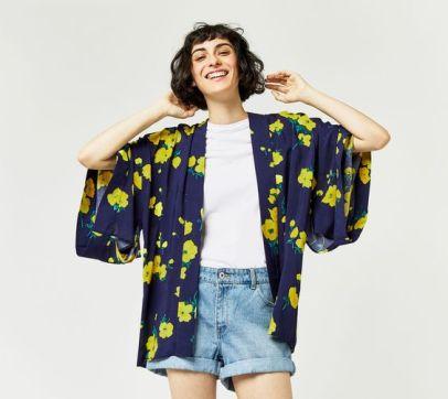 warehouse short kimono