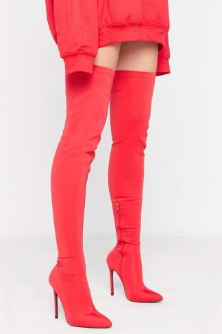 misspap red boots