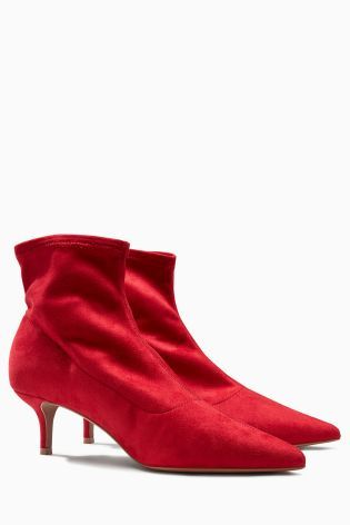 next red boots