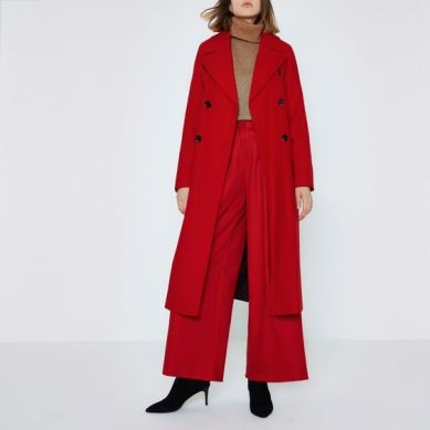 river island red coat