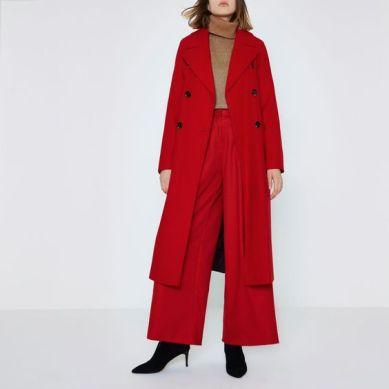 river island red coat